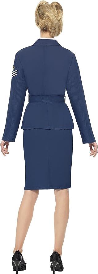Disfraz de Capitana de la Fuerza A/érea para mujer