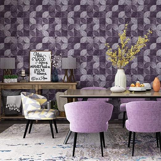 Papel pintado imitación cuero papel tapiz para sala de estar: Amazon.es: Bricolaje y herramientas