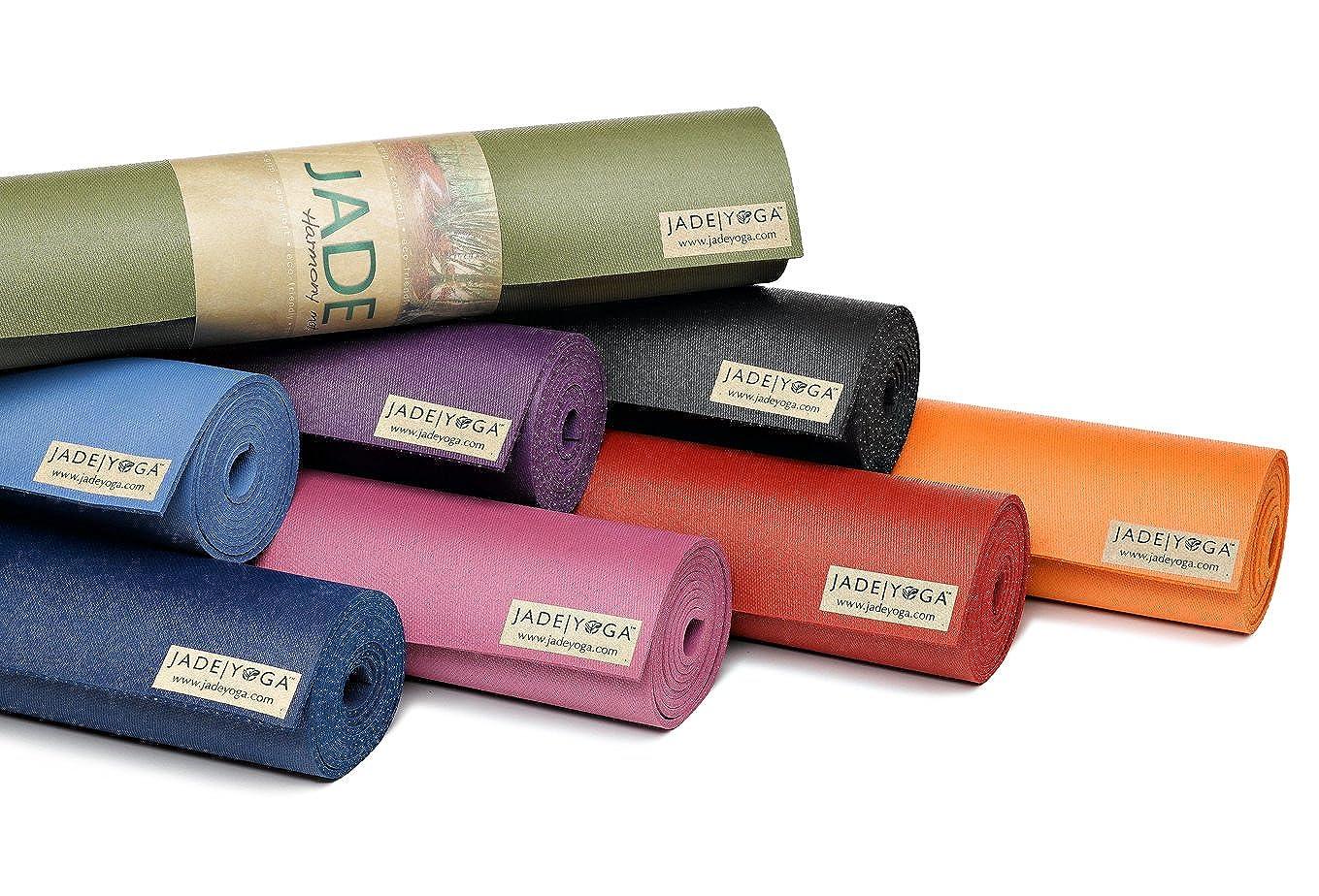 Jade Yoga Travel Mat-Purple-3mm x 173cm: Amazon.es: Electrónica