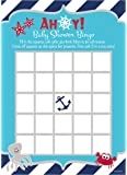 Nautical Under the Sea Baby Shower Bingo Game Cards (50 Count)
