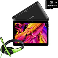 "Hyundai Tablet Koral 10XL 10.1"" 16Gb 2GB 4G LTE Quad Core - Grafito + Memoria 32GB + Audifono"