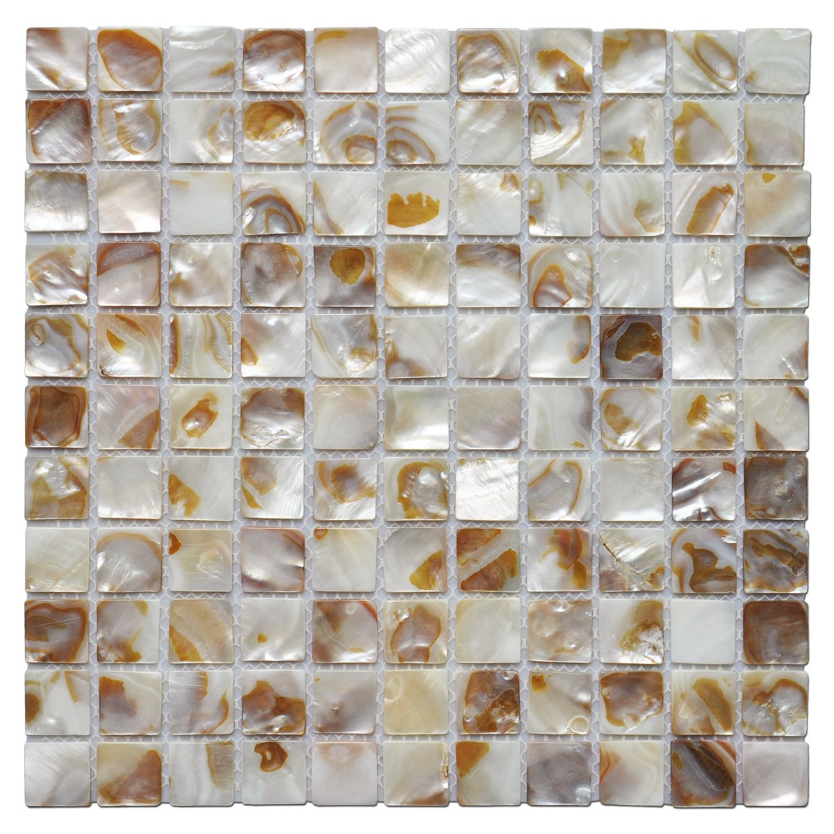 Art3d Shell Mocaic Tile for Bathroom/Shower Room/Kitchen Backsplashes, 10 Sq Ft (10 Sheets)