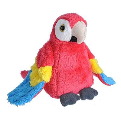 "Wild Republic Macaw Plush, Stuffed Animal, Plush Toy, Gifts for Kids, Cuddlekins, 5"": Toys & Games [5Bkhe0410651]"