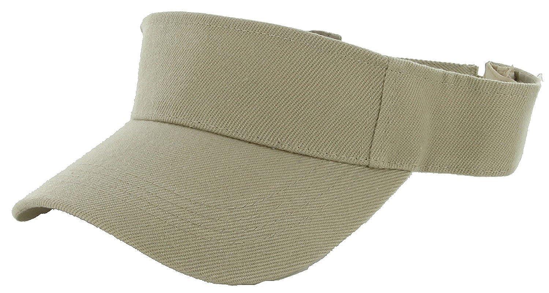 LA Gen Sales Plain Men Women Sport Outdoor Sun Visor Adjustable Cap
