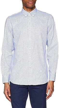 El Ganso 1050s180036 Camisa Casual, Multicolor (Azul/Rojo ...