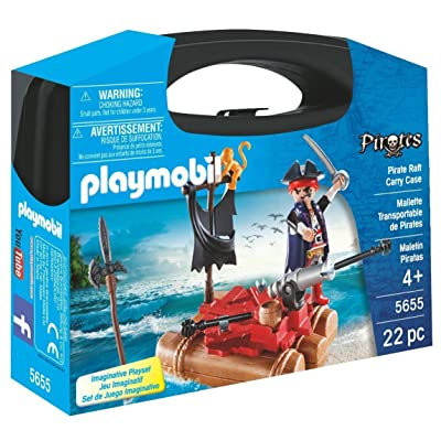PLAYMOBIL Pirate Raft Carry Case: Toys & Games [5Bkhe1103948]
