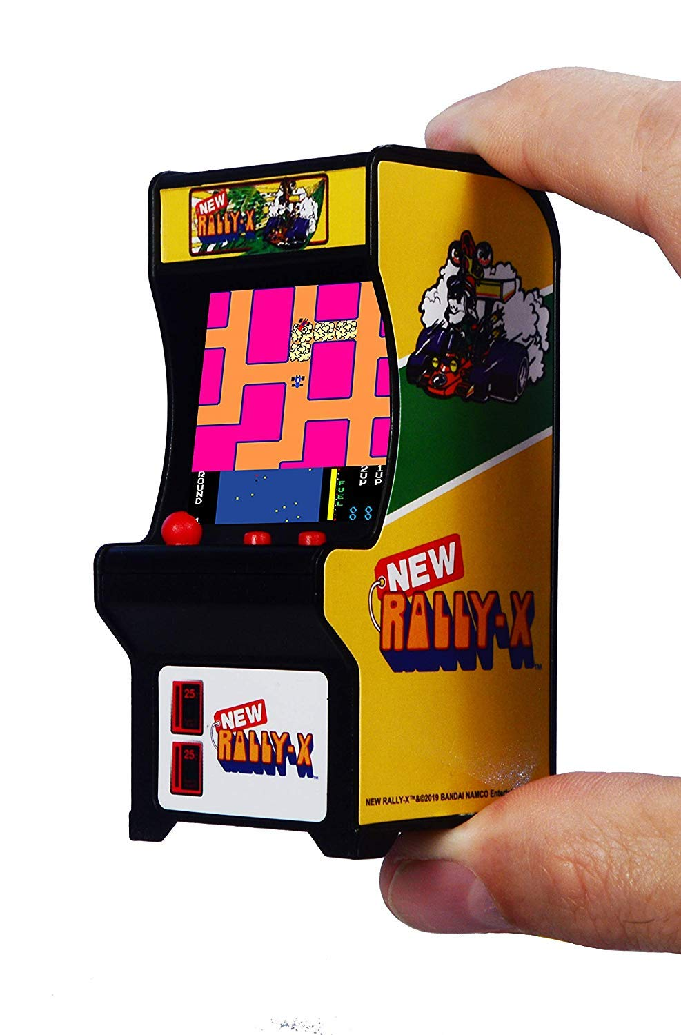 Tiny Arcade Set by Super Impulse (Pole Position, Rally-x, Tetris, Qbert)