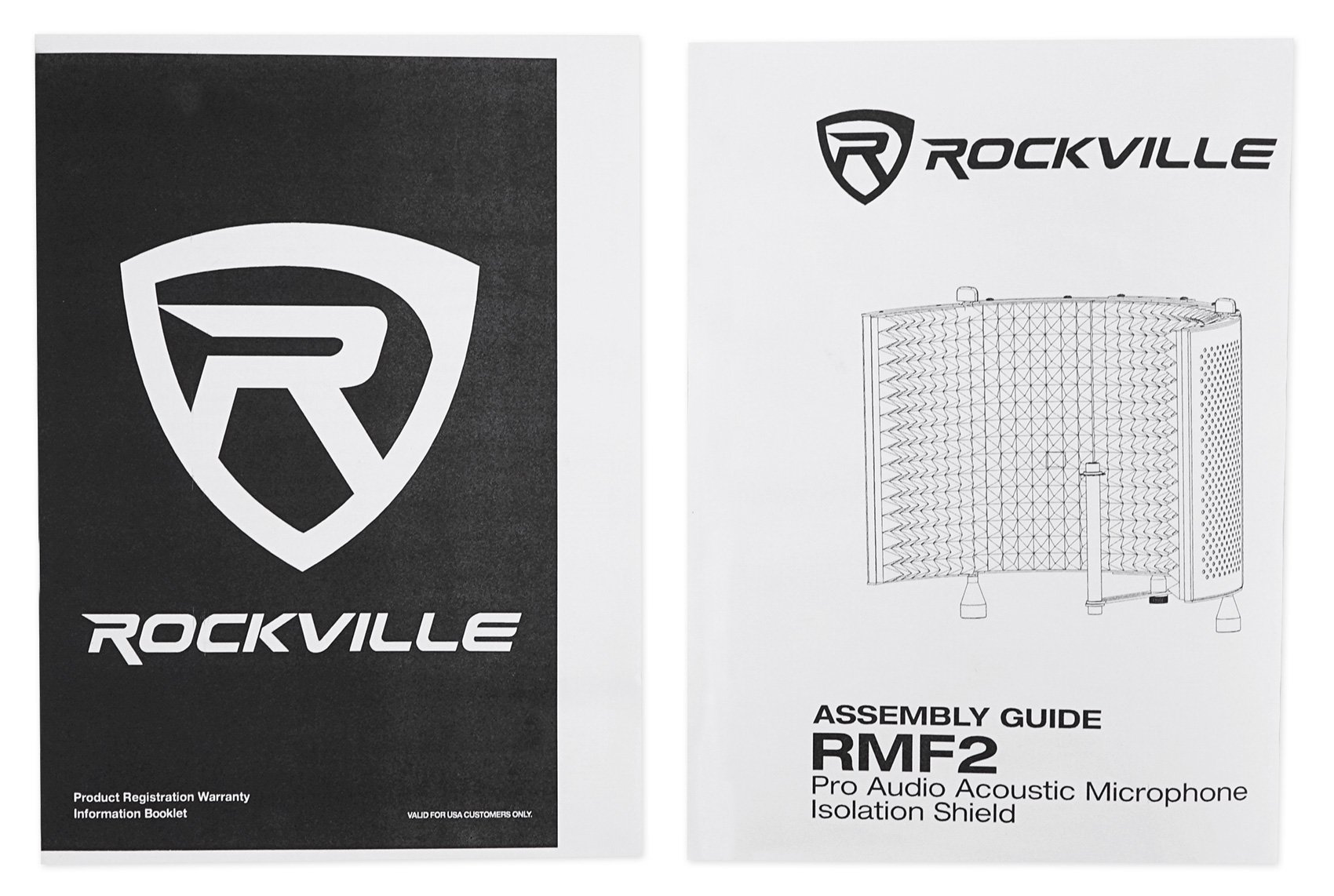 Rockville Recording Studio Microphone Isolation Shield + Heavy Duty Tripod Stand by Rockville (Image #5)