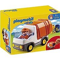 Playmobil - Camión de basura con 2 contenedores, (626621)