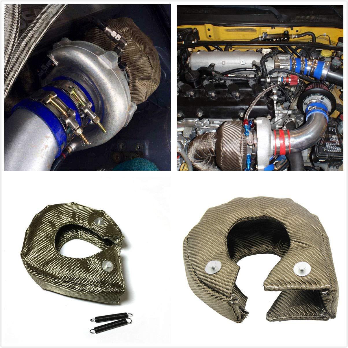 New T3 Titanium Turbo coperta scudo termico di barriera Turbo charger cover Wrap BEEAUTO