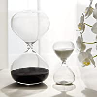 30 & 5 Minute Gravity Hourglasses - Time