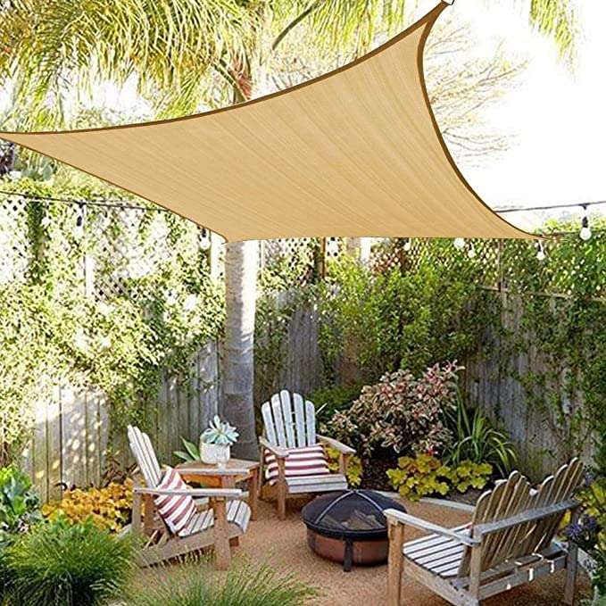 Shade&Beyond - Toldo rectangular para patio, jardín, pérgola ...