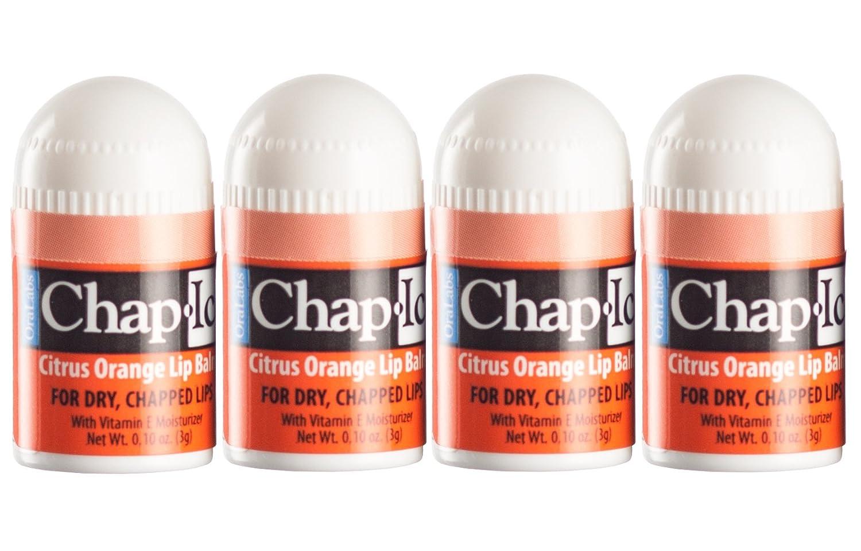 Lot of 4 Oralabs Chap Ice Cherry Lip Balm Mini Cute Bonus Pack …