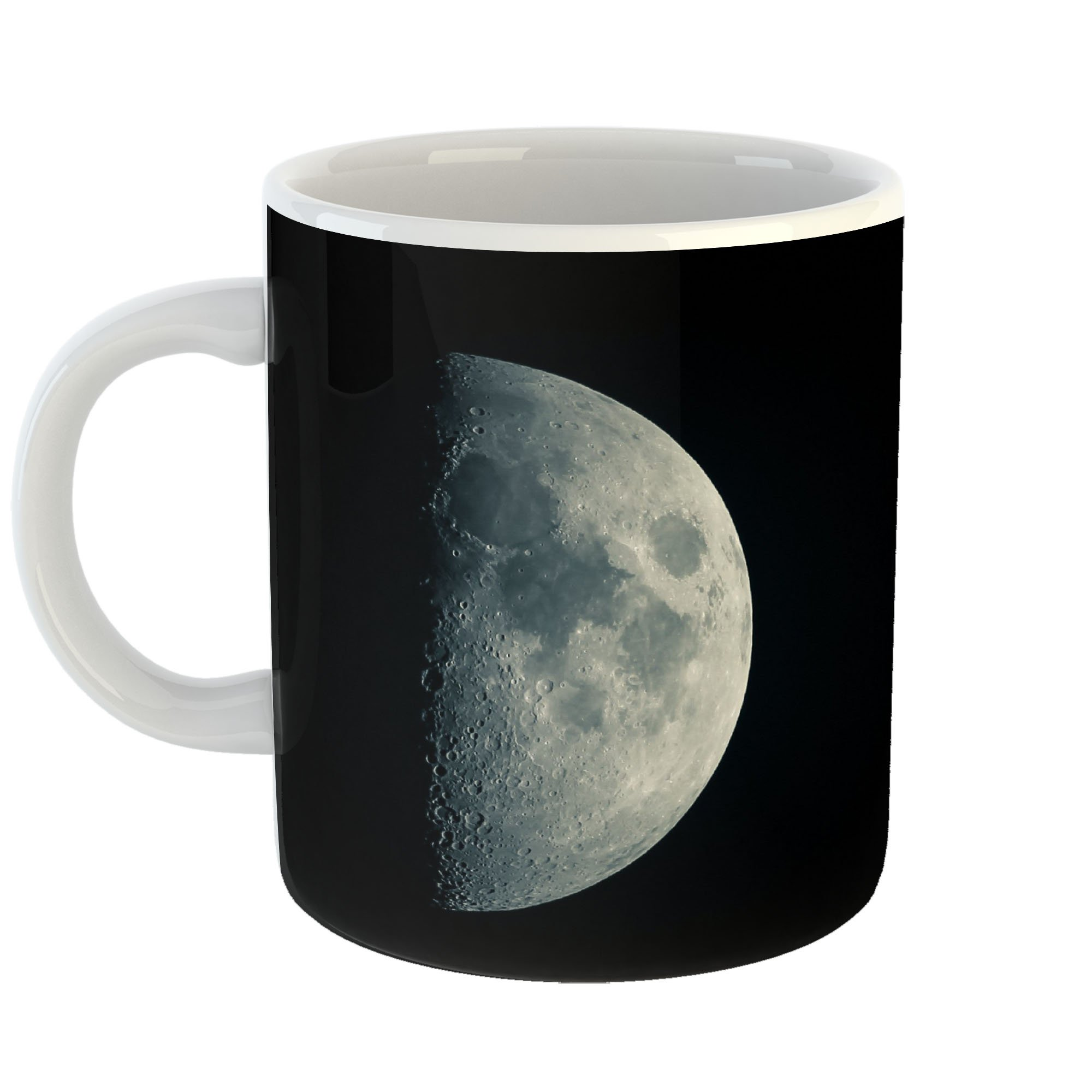 Westlake Art - Moon Solar - 11oz Coffee Cup Mug - Modern Picture Photography Artwork Home Office Birthday Gift - 11 Ounce (1BB1-46BB3)