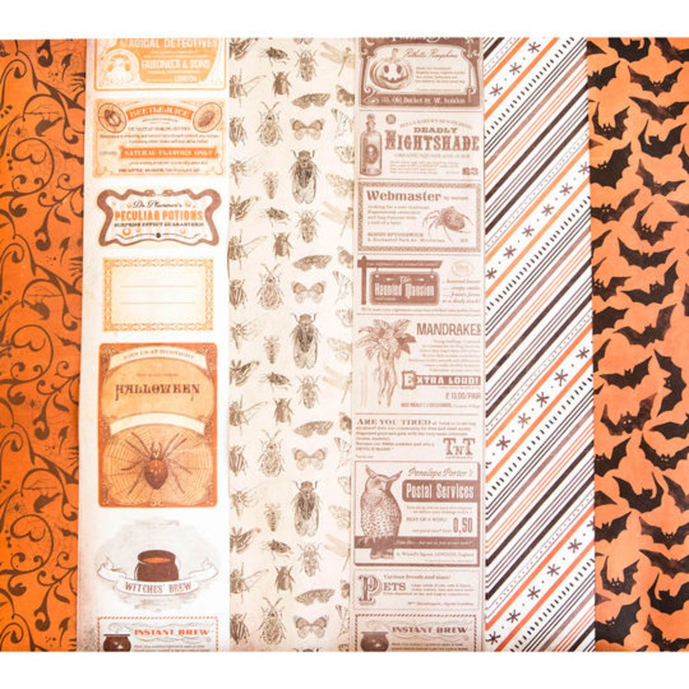 Halloween Decoupage Paper Set By Recollections