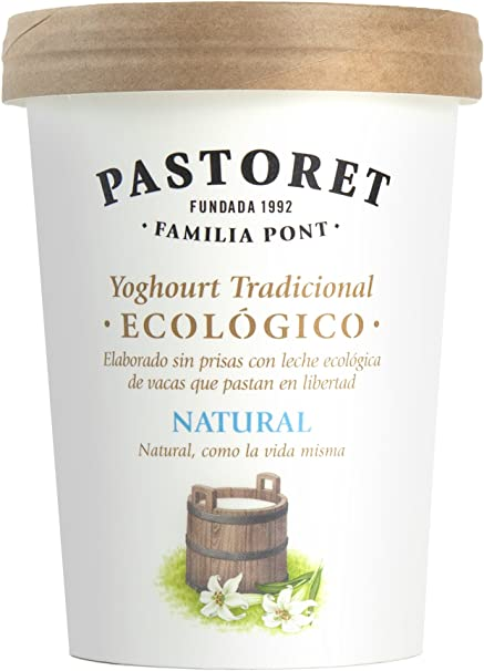 Pastoret Yogur Ecológico Natural, 500 g