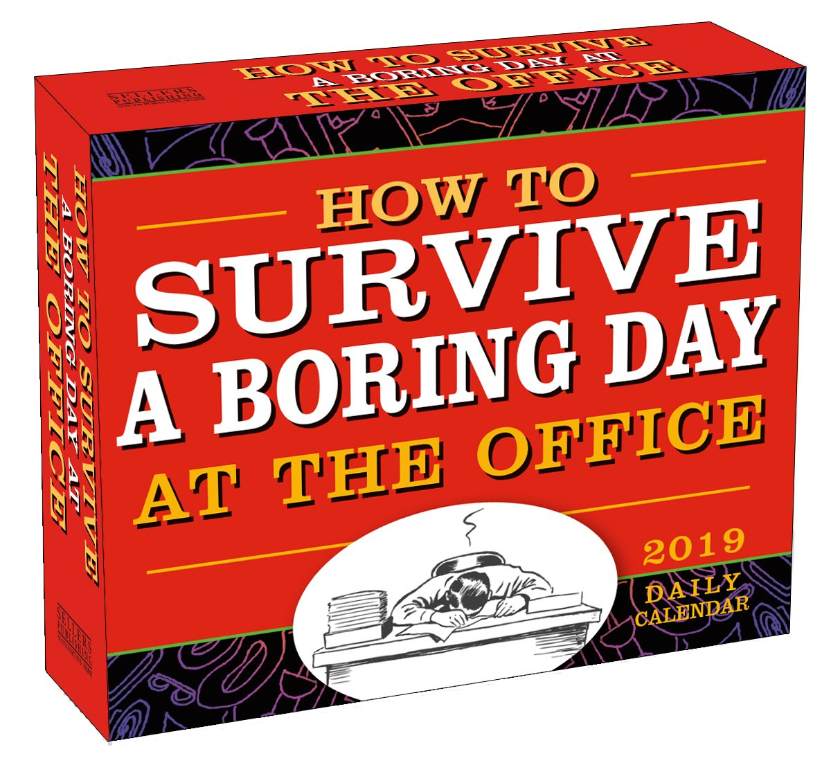 How to Survive a Boring Day at the Office 2019 Boxed Daily Calendar, 6 x 5, (CB-0515)