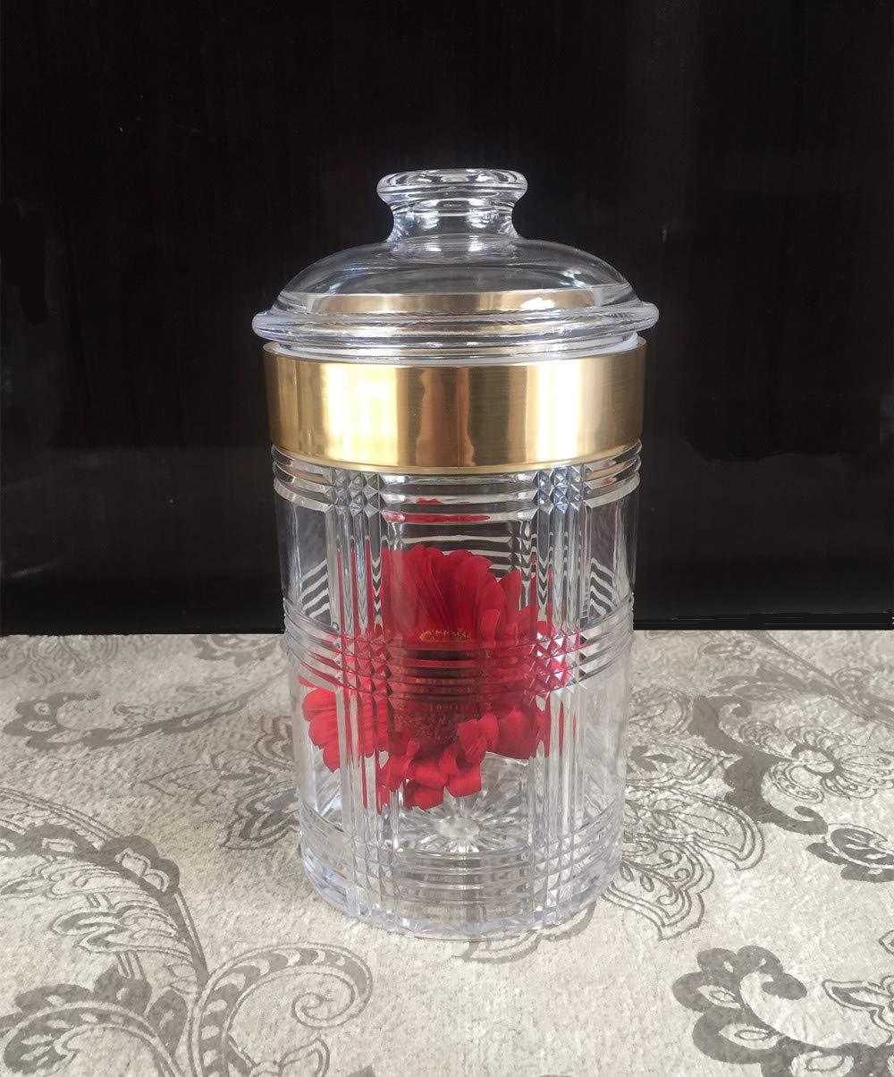 47oz Bekmore S/ü/ßigkeitenglas mit luftdichtem Deckel in Premium Acryl Aufbewahrungs- und Pr/äsentationsdosen//Hochzeits-Buffet /& Apothekergl/äser bruchfest und BPA-frei