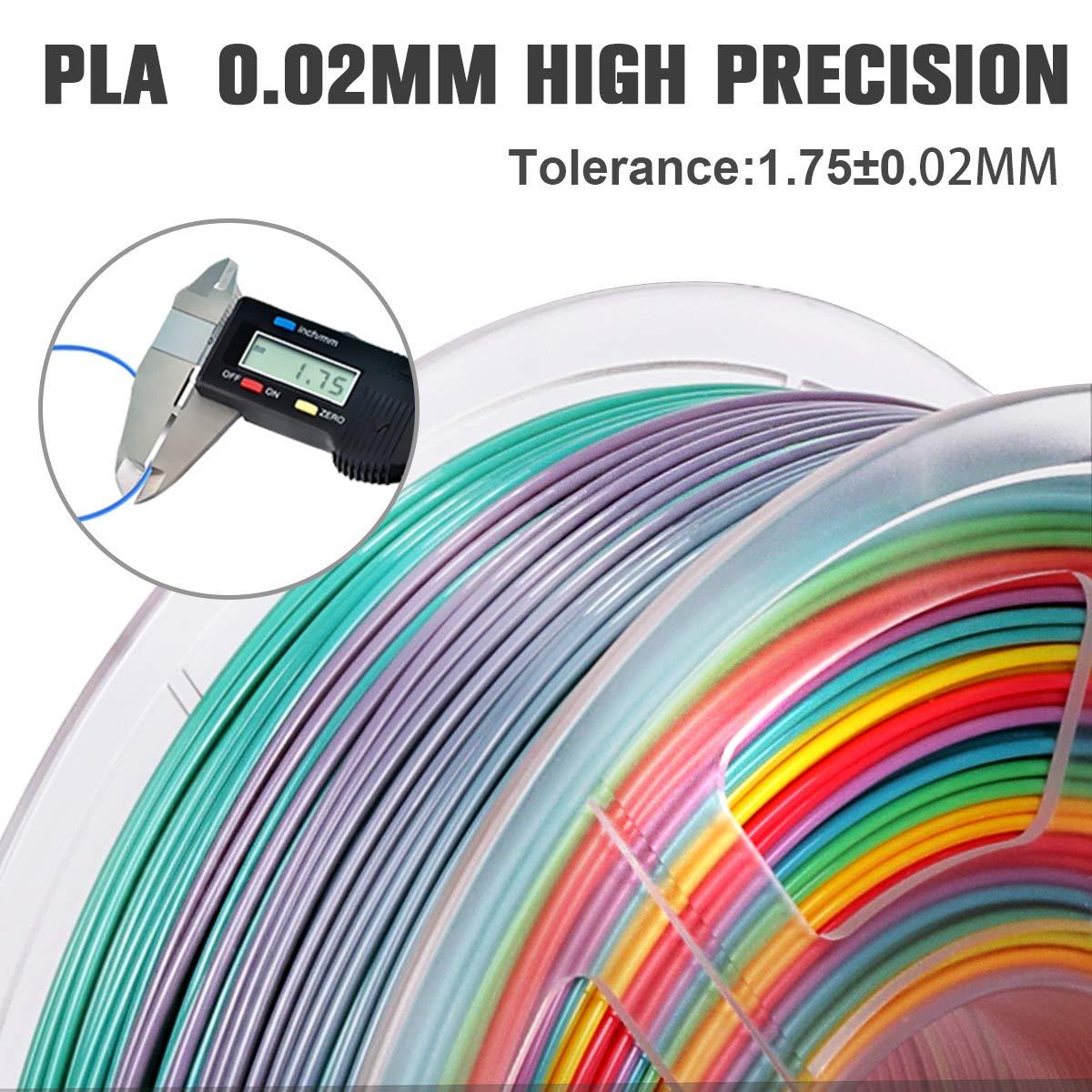 PLA+ Filament 1.75mm SUNLU 3D filament 1.75 Black Black 2KG PLA+ Filament 0.02mm for 3D Printer 3D Pens