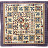 Patch Magic King Forever Quilt, 105-Inch by 95-Inch