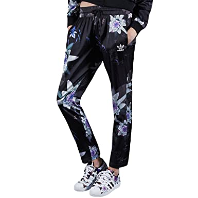 8359cc5033 adidas Originals Lotus Print Track Pants - XS at Amazon Women's ...