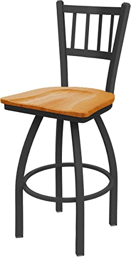 Holland Bar Stool Co. 81030PWMedOak 810 Contessa Bar Stool