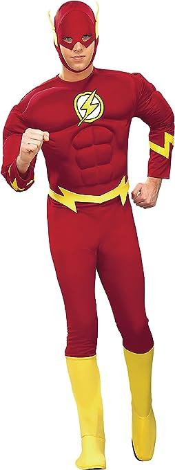 Rubies - Disfraz de superhéroe para hombre Flash, talla M (888079M ...