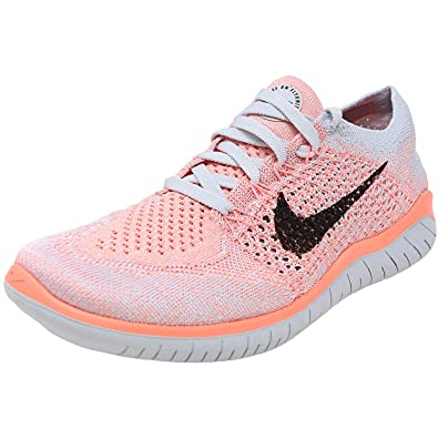quality design 6bb1a 70ce5 Nike Womens Free Rn Flyknit 2018 Low Top Lace Up Running, Size 8.0, Crimson  Pulse/Sail-hyper Crimson