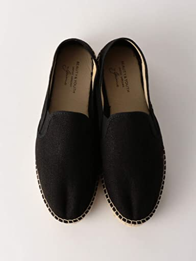 Jute Slip-On 1431-343-7045: Black