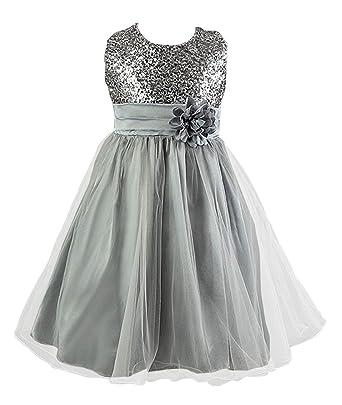 13deccd367080 Live It Style It filles à paillettes FLEUR demoiselle d Honneur Mariage  Tenue habillée fête