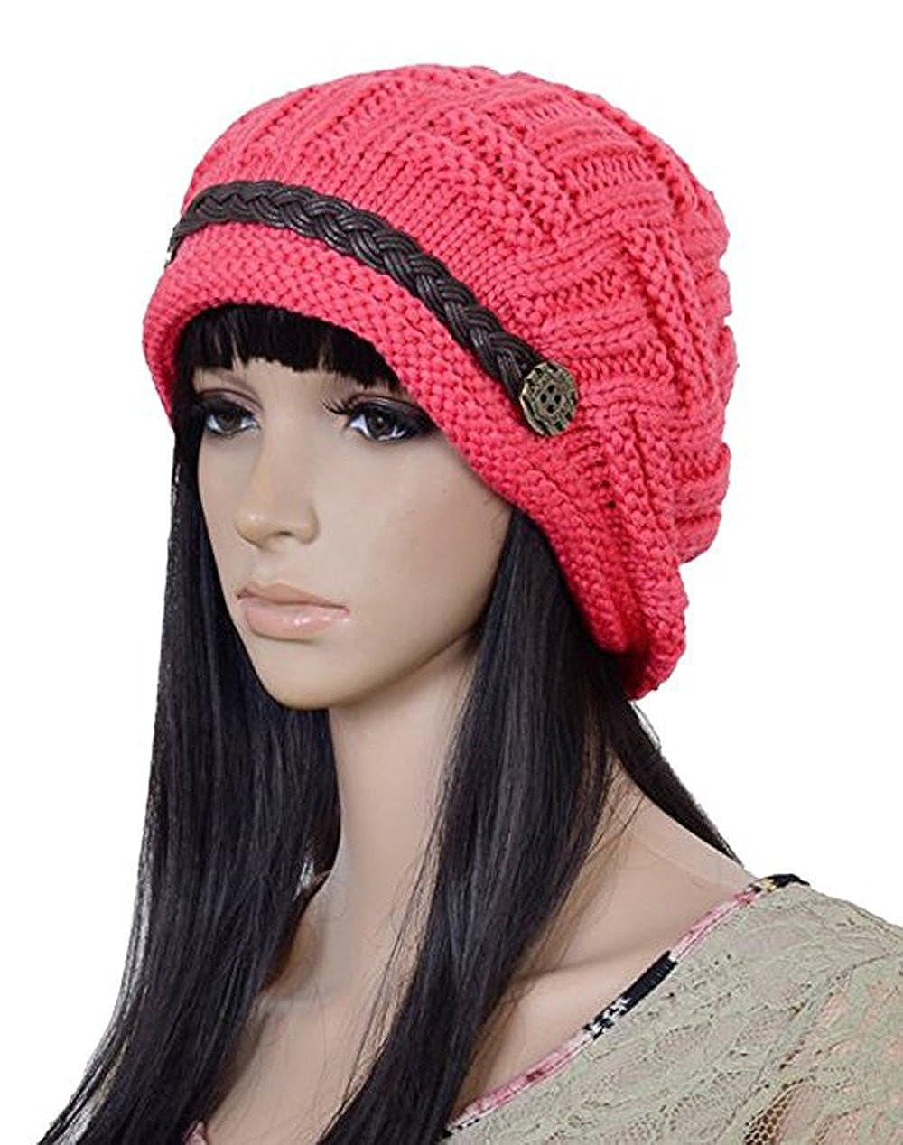 ArRord Women Knit Beanie Crochet Cap ArRordCA ArRordBerets