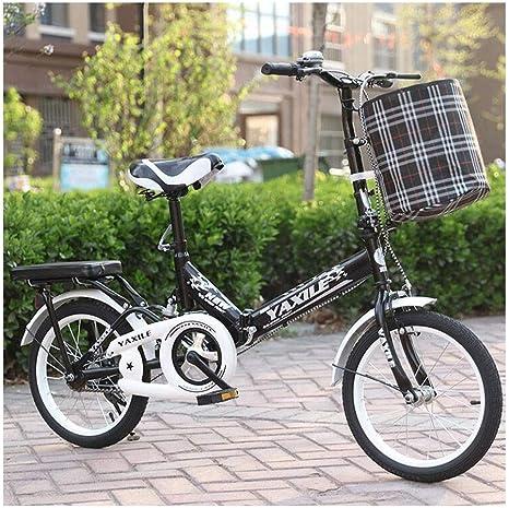 Weiyue Bicicleta Plegable- Bicicleta Plegable Bicicleta Ligera ...