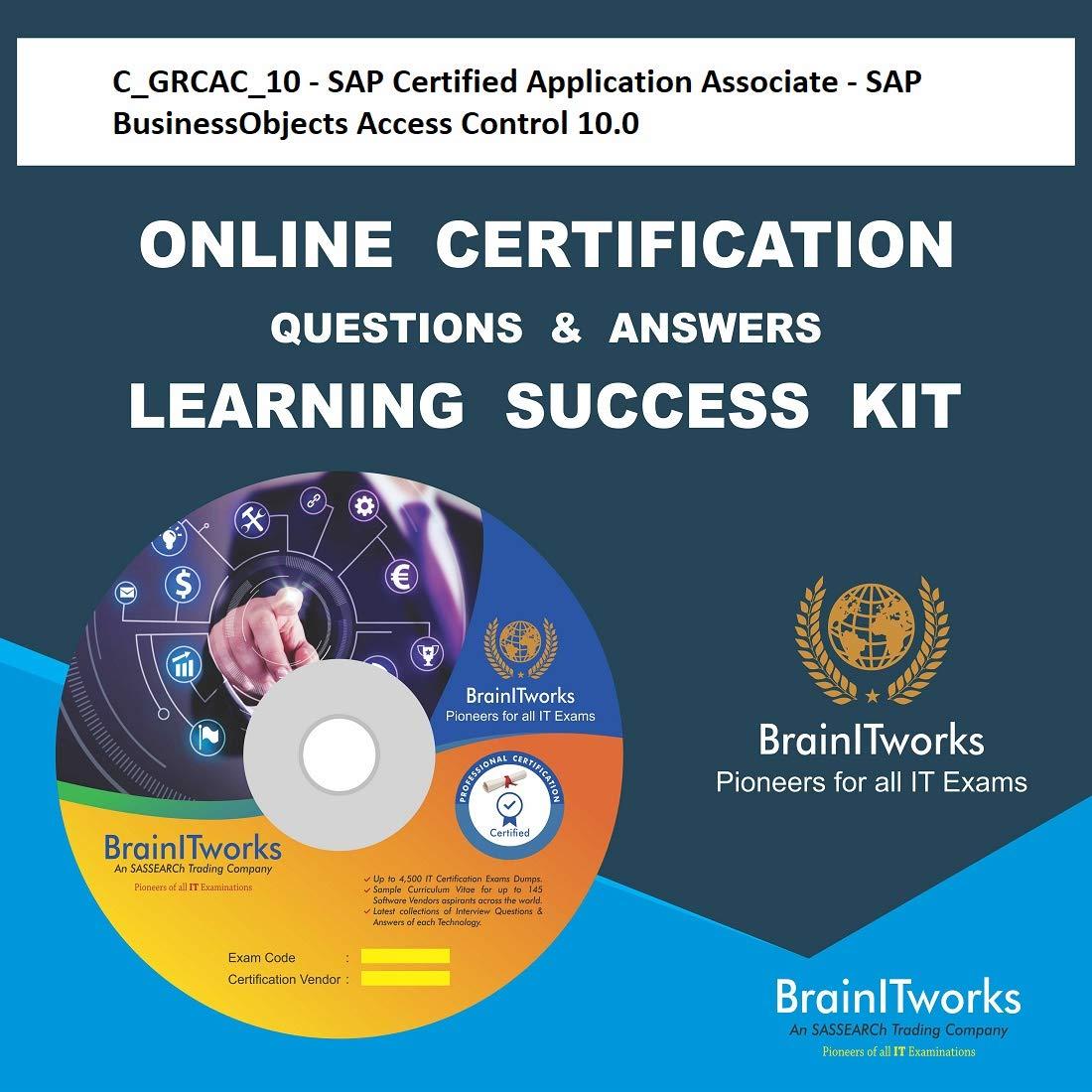 Amazon.in: Buy C_GRCAC_10 - SAP Certified Application Associate ...