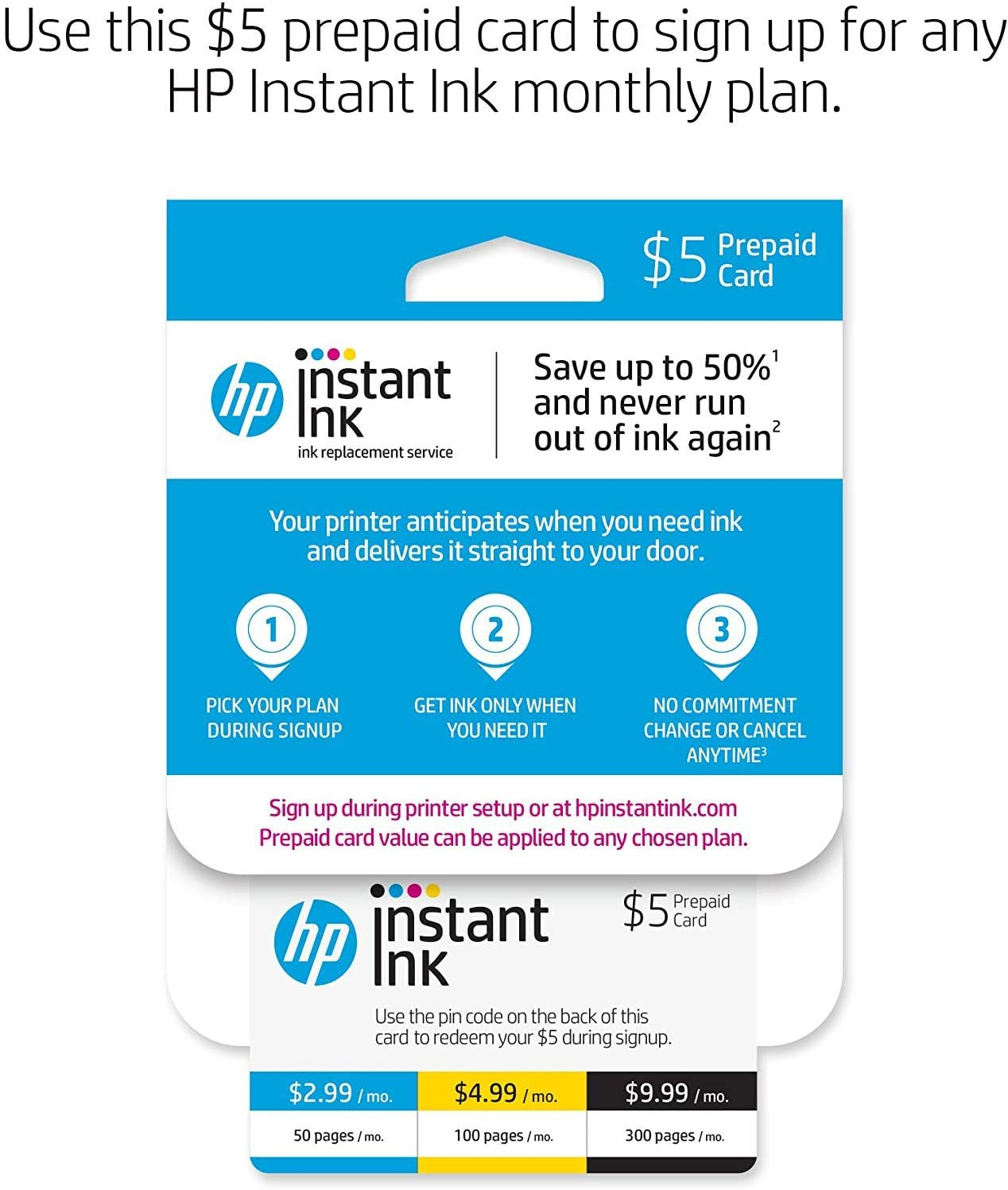 HP OfficeJet Pro 6978 All-in-One Wireless Printer with Mobile Printing (T0F29A) and Instant Ink Prepaid Card for 50 100 300 Page per Month Plans ...