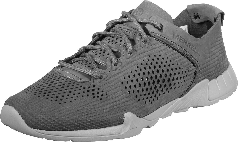 Merrell Versent Leather PERF Shoes Men/'s Castlerock J91451