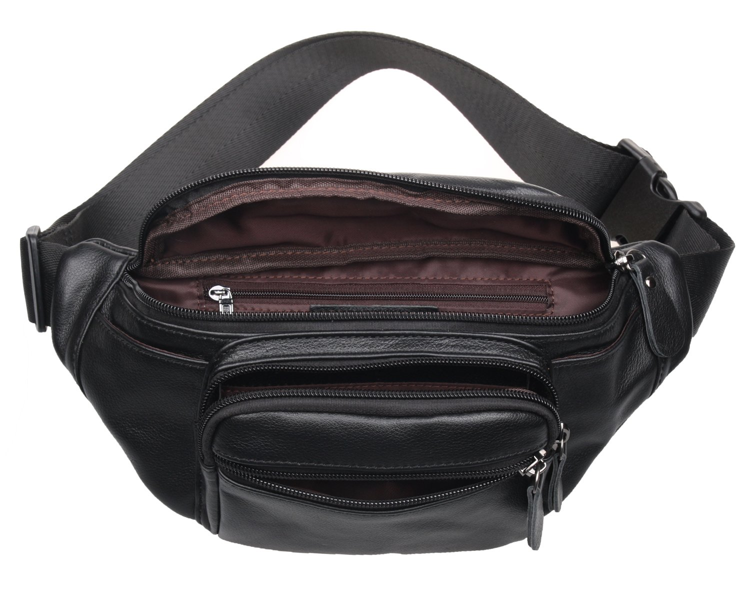 Classic Style Polare Genuine Leather Fanny Pack//Waist Bag//Organizer