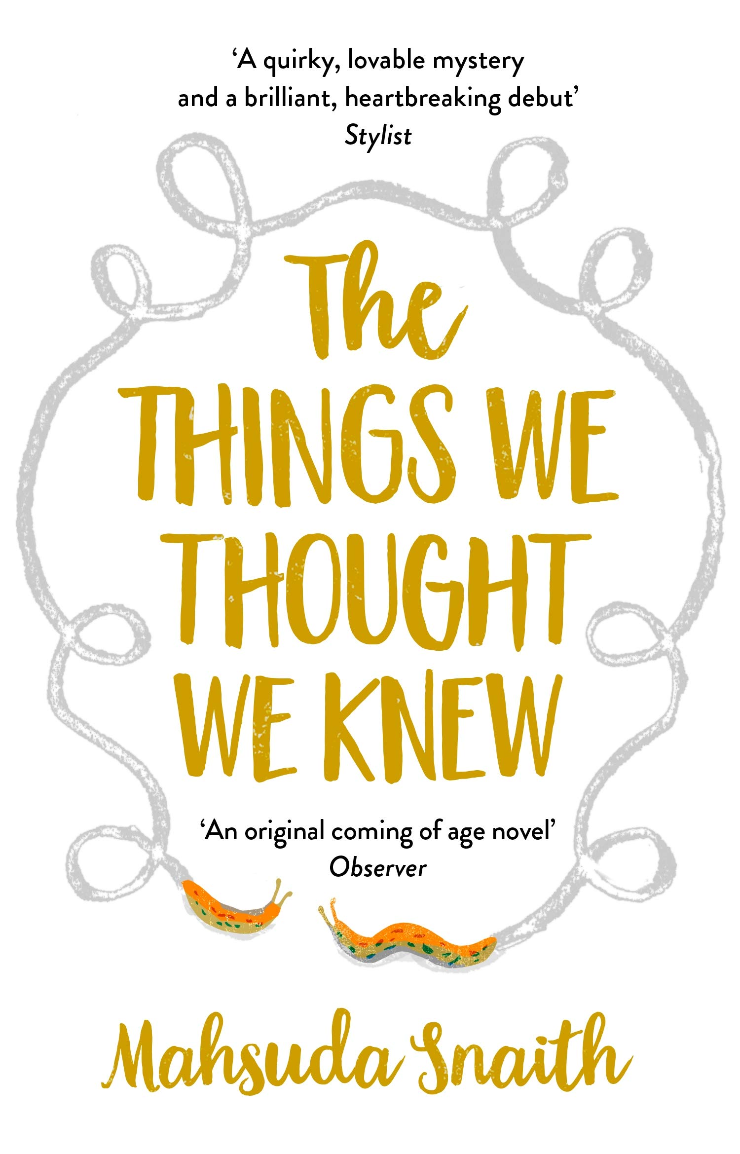 The Things We Thought We Knew: Mahsuda Snaith: 9781784162573: Amazon.com:  Books