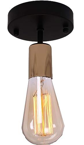 Amazon.com: BRIGHTESS W6970 - Lámpara de techo de metal ...