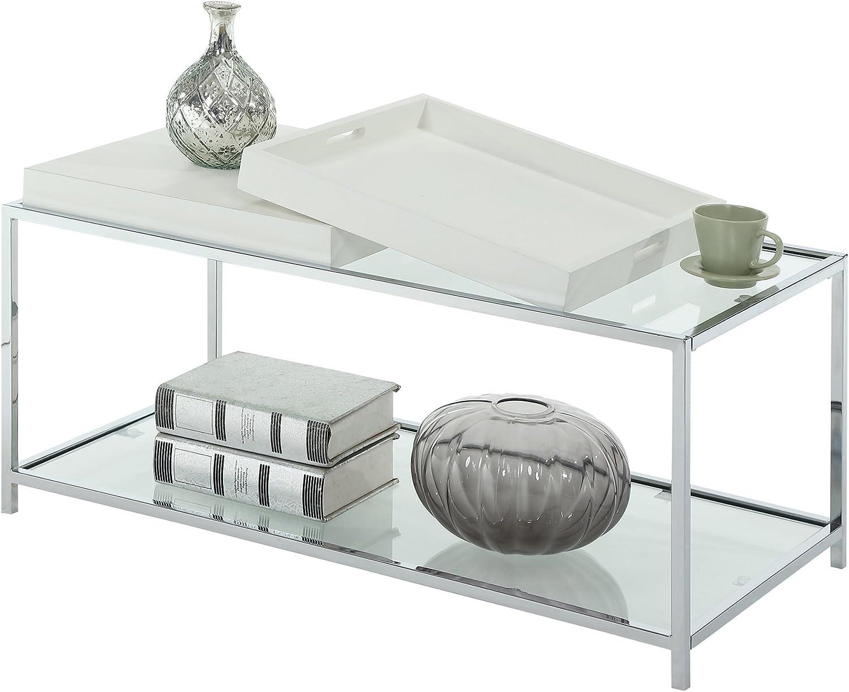 Convenience Concepts Palm Beach Coffee Table, White