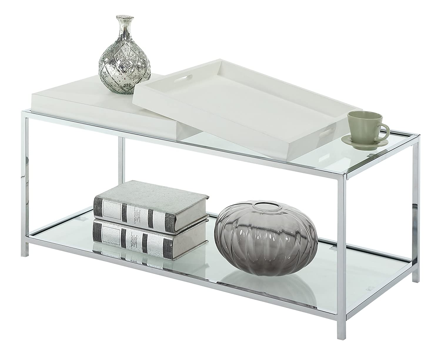 Amazon convenience concepts palm beach coffee table white amazon convenience concepts palm beach coffee table white kitchen dining geotapseo Image collections