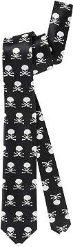 Cravate tête de mort 11