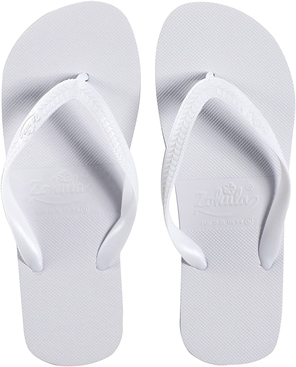Zohula Weiße Flip Flop Bulk Kaufen 10-100 Paaren von nur 1,79 € Paar