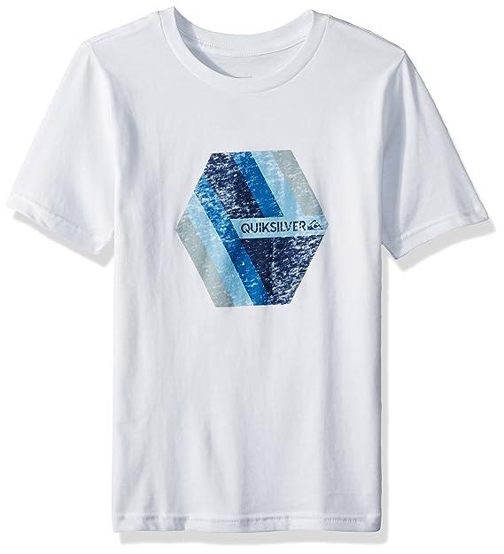 Quiksilver Camiseta de Manga Corta - para Niño  Amazon.es  Ropa y accesorios e75e283ad5f