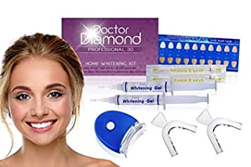 Diamond White Usa >> Dr Diamond Complete 3d At Home Teeth Whitening Kit Rated 1 In The Usa Deluxe Edition