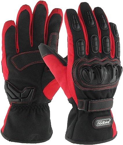 madbike guantes de moto guantes de moto impermeable invierno ...