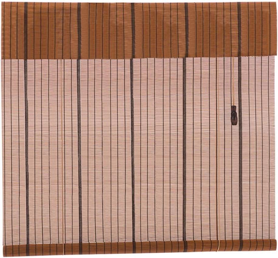 Persiana de bambú Persianas Enrollables para Interiores/Exteriores ...