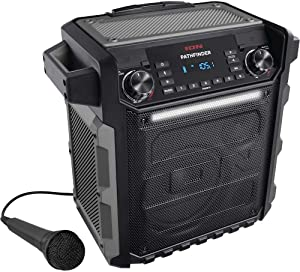 Ion Audio Pathfinder | High Power All-Weather Rechargeable Speaker (Renewed)