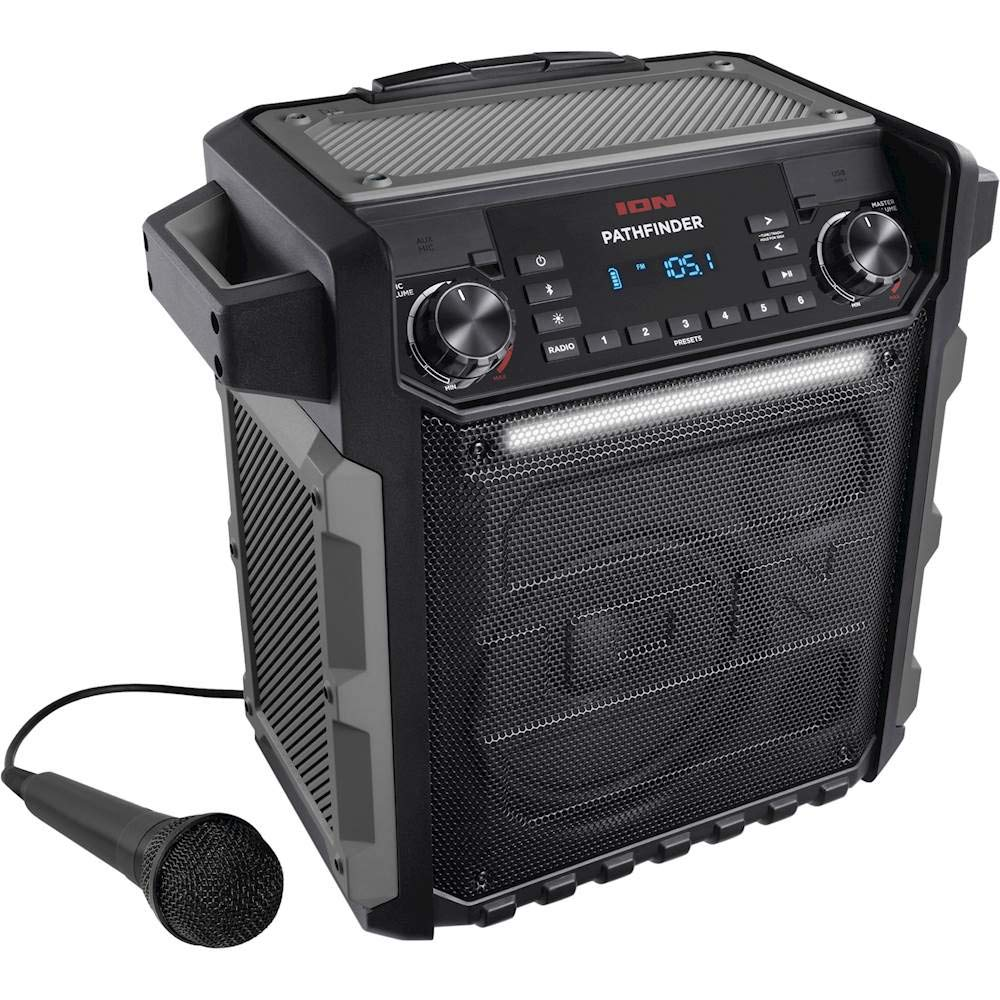 Ion Audio Pathfinder | High Power All-Weather Rechargeable Speaker (Renewed) by ION Audio (Image #1)