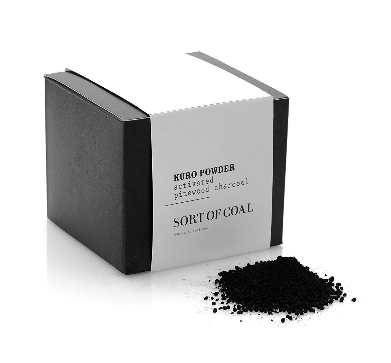 Sort of Coal - Edible Kuro Activated Charcoal Powder