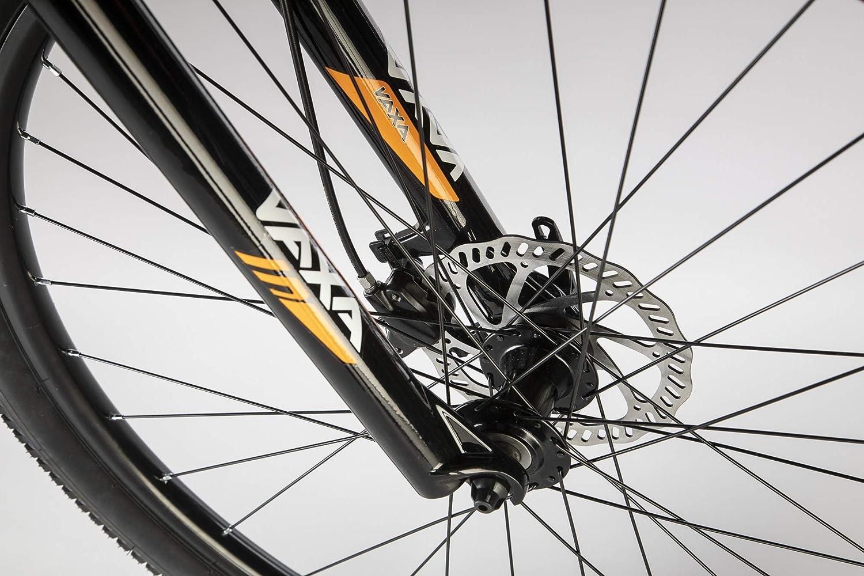 Conor Bicicleta 6700. Bicicleta de montaña con Dos Ruedas. Bici Ejercicio Adultos. Bike Ciudad. Ruedas 29 Pulgadas. 7 velocidades. (Negro/Naranja LA): Amazon.es: Deportes y aire libre